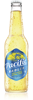 Bottle of Pacific Beverages Radler